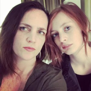 A.R.Spaulding and her daughter